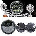 Для Yamaha Royal Star Venture XVZ1300 для Harley 75 Вт 7 дюймов светодиодная мотоциклетная фара 7