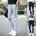 2016 calças dos homens marca de moda Outono inverno sweatpants calças roupas masculinos casuais calças slim homens Faixa Calças de Jogging