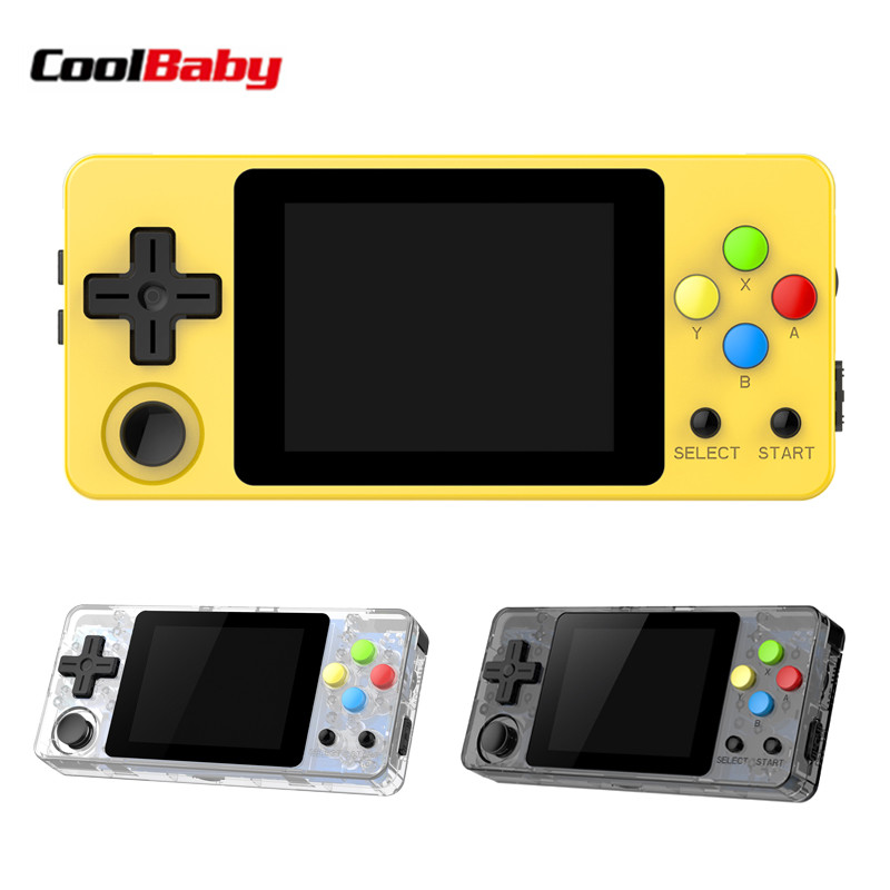 LDK OPEN SOURCE video game console Mini Retro CoolBaby Handheld Game players portable Console HD Retro Mini consola boy tetris