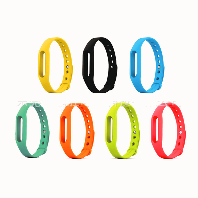 Man Sport Watch Strap Siamese Kids Jelly Watchband Women Silicone Watches straps Anti-drop One Color Band