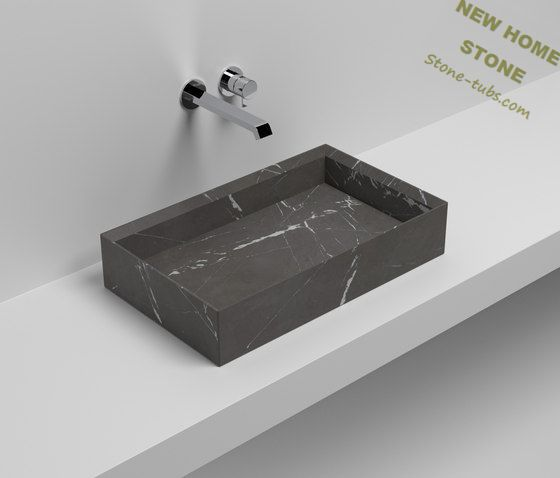 Rectangular lavabo del ba o estilo simple dise o franc s for Lavabo rectangular