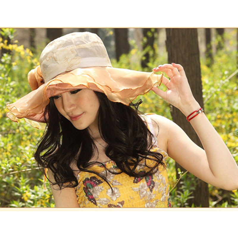 Summer Hats For Women Part - 49: Aliexpress.com : Buy Big Beach Summer Hats Women Wholesale Hats For Women  Women Fashion Summer Sun Hat Women Big Flower From Reliable Hat Cap  Suppliers On ...