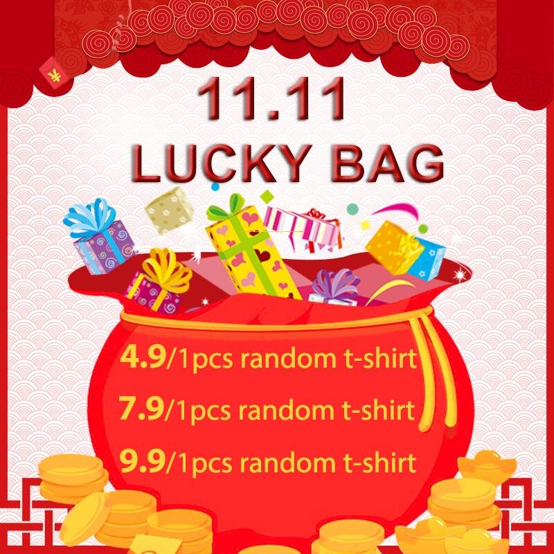 WOTWOY Clearance Lucky Bag   4.9usd / 1 Random T-shirt, 7.9usd / 2 Random T-shirt, 9.9usd / 3 Random T-shirt