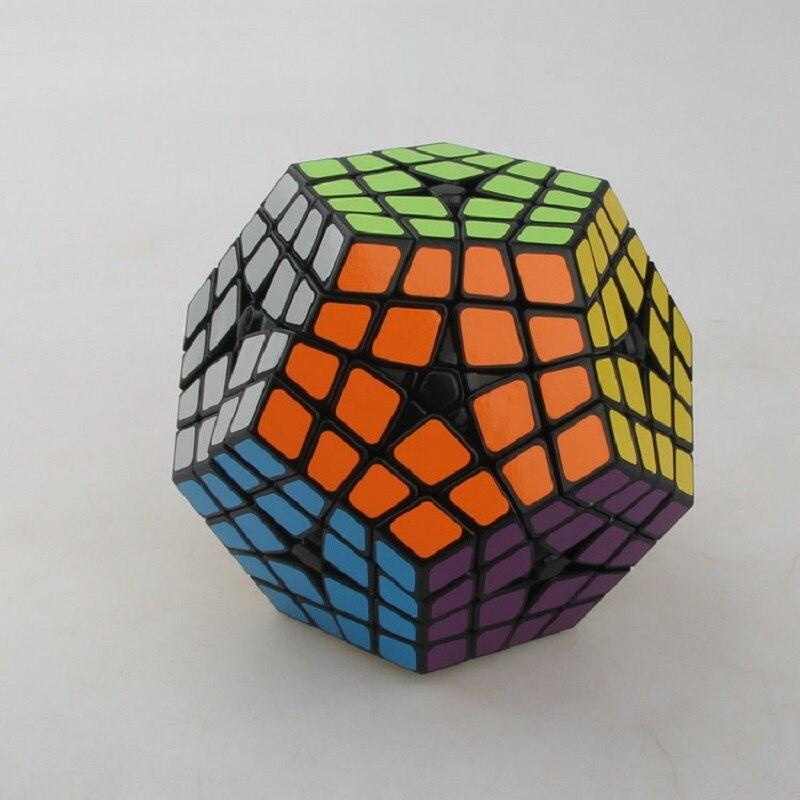 Nouveau Shengshou Master Kilominx Puzzle Cube professionnel 4x4x4 PVC & mat autocollants Cubo Megaminx Puzzle Cube vitesse classique jouets
