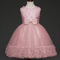 Formal Evening Gown Flower Wedding Princess Dress Girls Children Clothing Kids Dresses For Girl Clothes Tutu