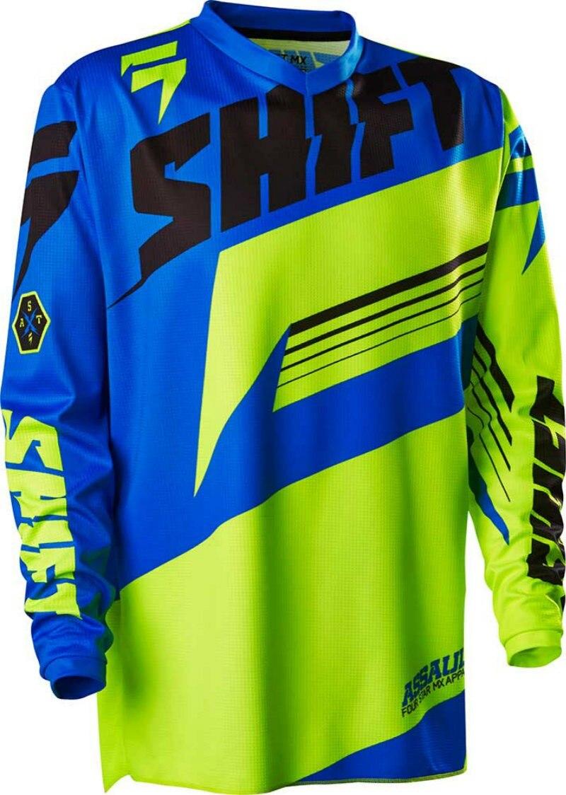 Prix pour Vélo 2017New shife Descente Jersey Vtt vélo moto Jersey Crossmax Shirt Ciclismo Vêtements pour Hommes VTT T-shirt jer