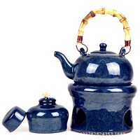 High Grade Purple Clay Tea Warmer Tea Stove Heating The Base Of The Beam To Cook