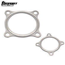"1PCS 3"" 4 Bolt Turbo Downpipe Iron material Gasket For GT30 GT35 Turbochargers(China)"