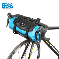 ROSWHEEL 2017 Bike Bicycle Bag Panniers Waterproof Nylon TPU Front Bicycle Handlebar Bag 3 7L MTB