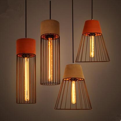 Retro Industrial Vintage Pendant Light With Edison Bulb,Pendant Lamp For  Bar Home Living Hanging Lamp,Lamparas Colgantes