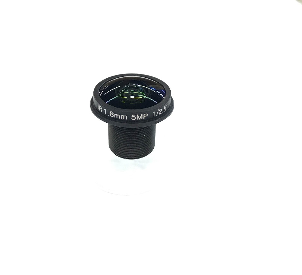 HD 5MP cctv lens 1.8MM M12 mount fisheye lens full HD for video surveillance camera wide angle