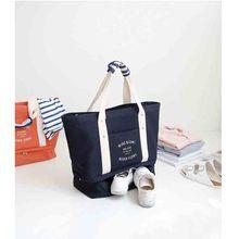 Fashion Waterproof Travel Bag Large Capacity journey duffle Women Nylon Folding Bag Travel Carry on Luggage Overnight Bags 30