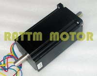 Quality Dual Shaft NEMA34 1600 Oz In CNC Stepper Motor Stepping Motor 5 0A