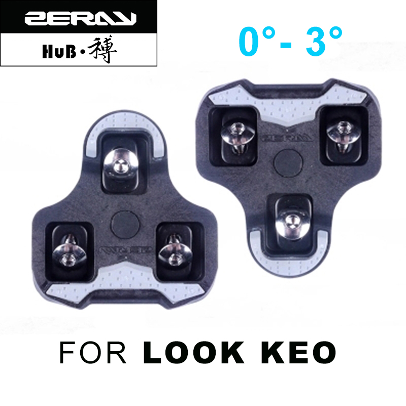 ZERAY straße mountainbike self-locking pedal schiene für LOOK KEO system ultra licht pedal fahrrad zubehör schloss platte