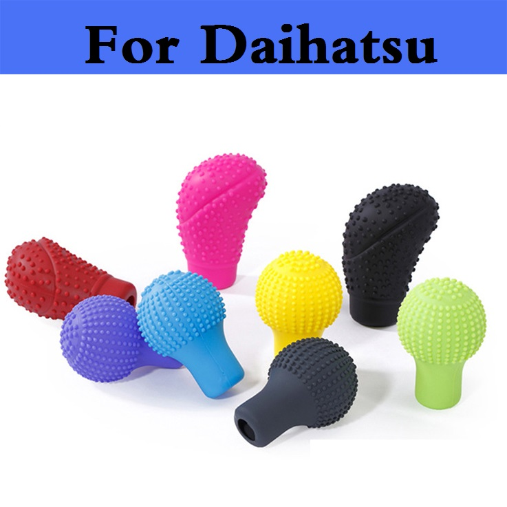 2017 Durable Grips Gear head Shift knob Cover Gear Shift Silicone For Daihatsu MAX Mira Mira Gino Sirion Sonica Terios Trevis 6pcs lot soft thumb grips thumbstick joystick high enhancements cover caps skin fit for sony play station 4 ps4 ps3 xbox 360