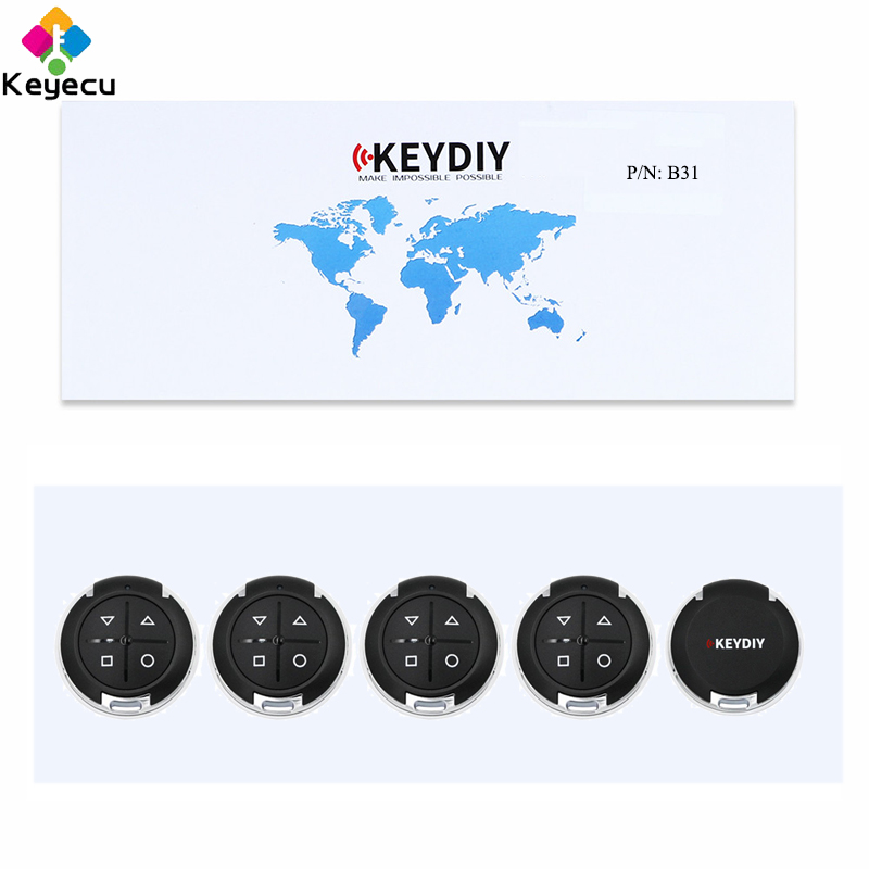 KEYECU 5PCS Lot Replacement Universal Remote B Series for KD900 KD900 KD X2 KEYDIY B Series