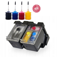 Compatible refillable cartridge 131 135 for hp Deskjet 460 5743 5940 5943 6843 photosmart 2573 2613 PSC1600 2350 printer