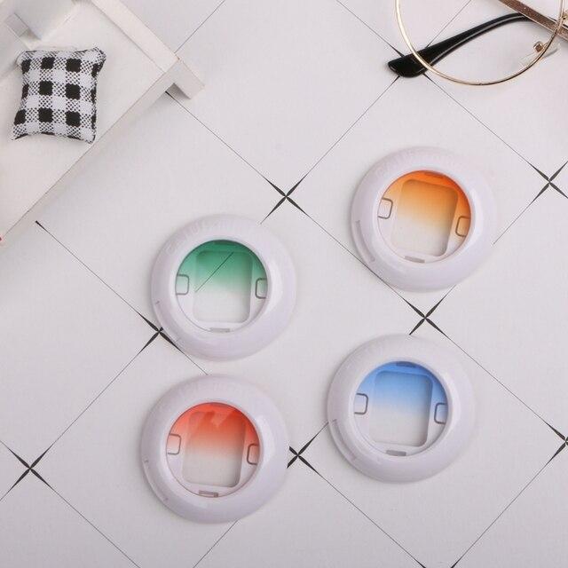 Комплект цветных фильтров для объектива Fujifilm Instax Mini 8 8 + 9 7s kt, 4 шт., мгновенная пленка, аксессуары для камеры Polaroid