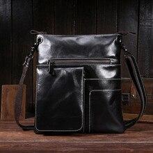 Hot Selling Men Genuine Leather Designer Handbag Small Flap Causa Shoulder Bag High Quality Cross Body Men Messenger Bag