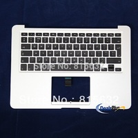 NEW FOR MACBOOK AIR A1466 UK Top case palmrest keyboard 2012, WHOLESALE