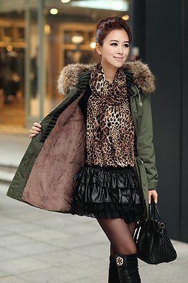 Unique Hoodies Long   Parkas   Coat Female Winter Jacket Coat Thick Cotton Warm Outerwear   Parkas   Long Plus Size Faux Fur Padded Coat