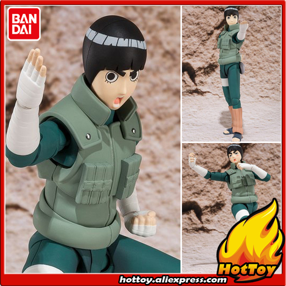 100% Original BANDAI Tamashii Nations S.H.Figuarts (SHF) Exclusive Action Figure Rock Lee from NARUTO Shippuden