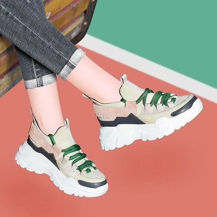 1 Chaussures Femmes Nouvelle De 2 Sauvage Décontracté 2019 Mode Marée vTpwfH