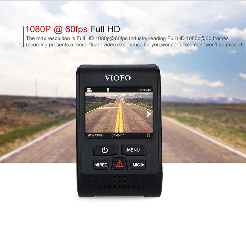 """VIOFO Автомобильные видеорегистраторы A119S Модернизированный V2 2,0 """"супер конденсатор с алюминиевой крышкой, Dashcam NT 96660 HD 1080 P gps автомобиля тире камера CPL проводной кабель предохранитель DVR"""