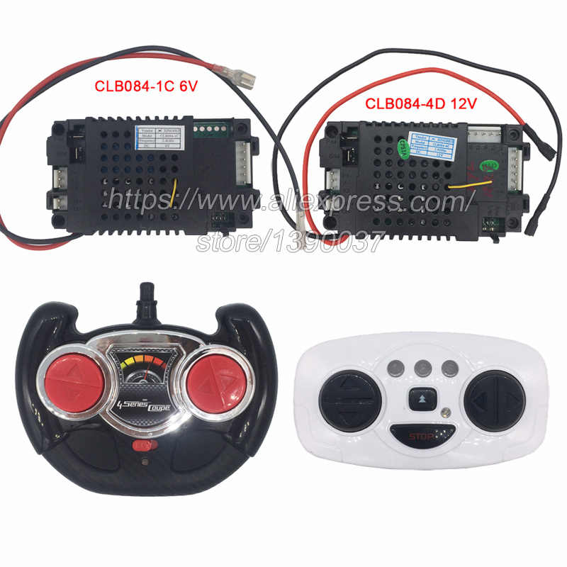 CLB084-4D children's electric car 2.4G remote control and receiver  CLB transmitter for baby electric car 12V and 6V