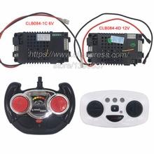 CLB084 4D เด็กไฟฟ้ารถ 2.4G รีโมทคอนโทรล CLB เครื่องส่งสัญญาณสำหรับเด็กไฟฟ้ารถ 12V และ 6V