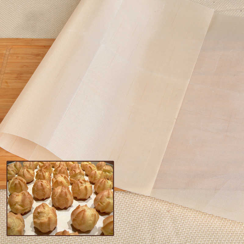 30/60*40 Cm Dapat Digunakan Kembali Non-stick BBQ Grill Mat PTFE Barbekyu Baking Liners Teflon Memasak Pad Microwave Oven alat Dropshipping