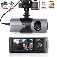 "DHL 10 PCS Car DVR X3000 R300 with 2.7"" GPS Car DVRs Vehicle Camera Video Recorder Dash Cam Dashboard Portable Recorder"