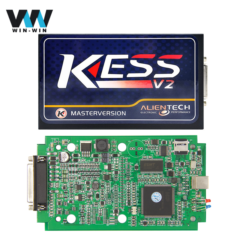 Цена за Kess v2 v2.3 v4.036 NoToken ограничение Диагностический Инструмент KESS V2 OBD OBD2 Менеджер ECU Чип-Тюнинг Комплект KESS V2 Мастер сканер