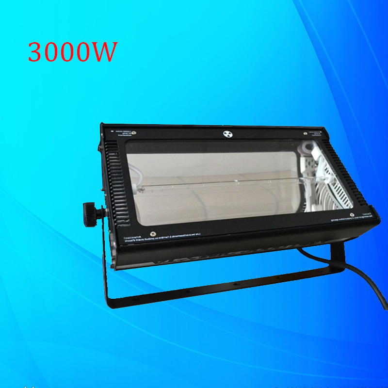 High Brightness 3000W Atomic Strobe Light DMX 3000W Strobe Flash Light Professional DJ Disco Party Concert Stage Lighting