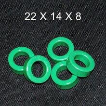 5 шт. ферритовый сердечник EMI фильтр 22X14X8 мм ферритовые сердечники кольцо антипаразитный тороид тороидальный шарик катушки ферритов железа подавление