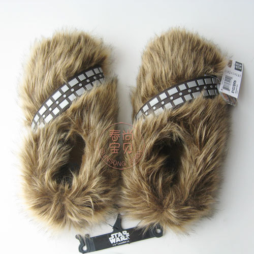 d4ef37eec156 Star wars cospaly Chewbacca shoes adult s slipper free shipping three free  sizes