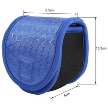 Durable Safety Pin Backpack Outdoor Fishing Fly Reel Protective Pouch Case Cover Bag For 2/3/4/5/6wt Fishing Lure Bag