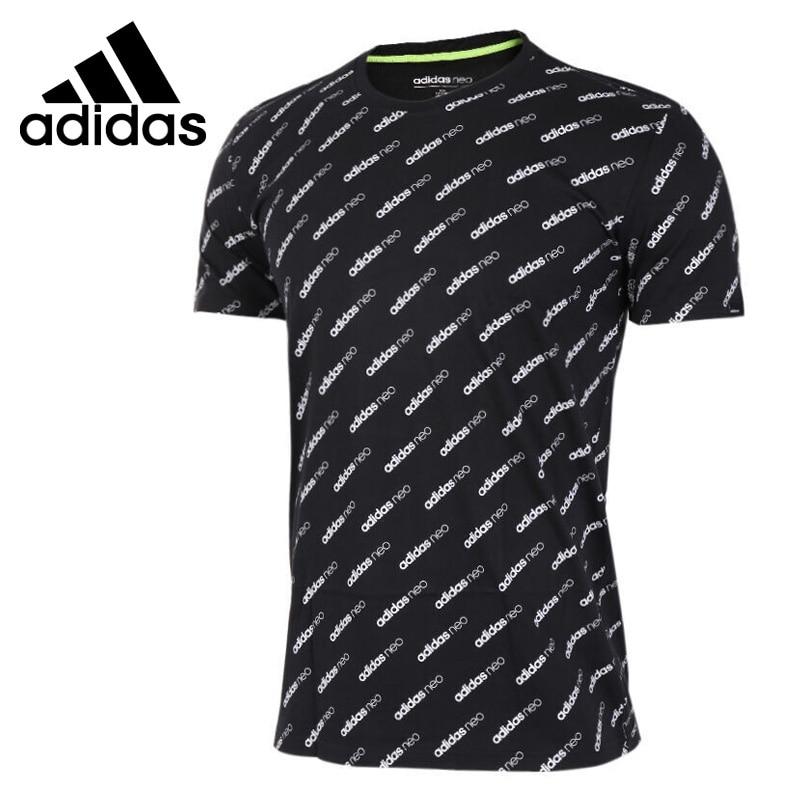 Original New Arrival Adidas NEO Label M MONOGRAM T Men's T-shirts short sleeve Sportswear original new arrival 2017 adidas neo label m sw tee men s t shirts short sleeve sportswear