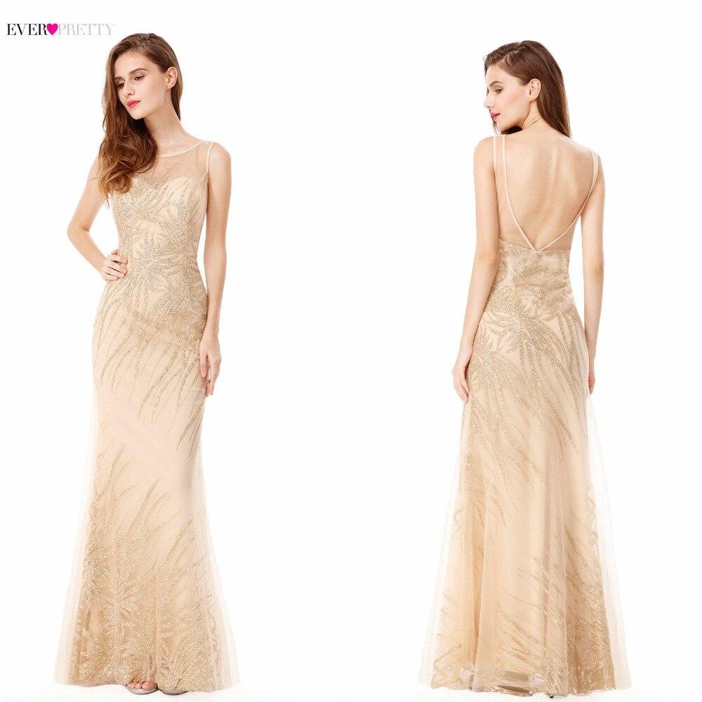 Evening Dress Women S Elegant Round Neck Sleeveless Long Evening Party Dress EP08929 New Arrival