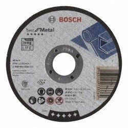 BOSCH 2608603524 tarczy ściernej cięcia proste najlepszy metalowy 115x2 5mm w Akcesoria do elektronarzędzi od Narzędzia na