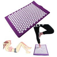 Massager Yoga Bed Mattress Pain Relieve Acupressure Cushion Mat Of Nails New
