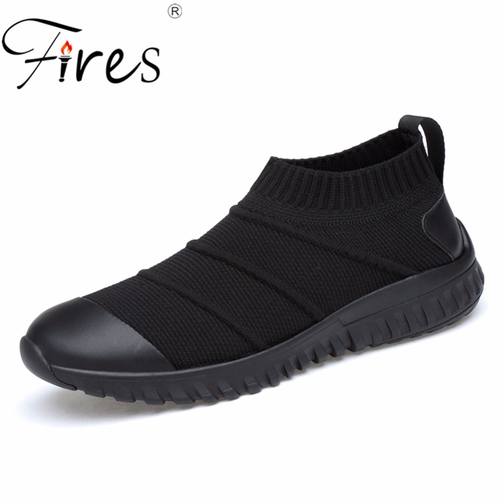 Fires Sneakers For Male Running Shoes Spring Breathable Outdor Walking Shoes Brand Men Comfortable Wear-resistant Sports Shoes