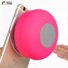 BIJELA BTS06 Waterproof Wireless Bluetooth Speaker Mini Portable Bathroom Speakers Music Player for iPhone Samsung HUAWEI Sony