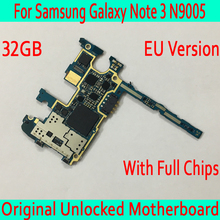 32 Гб для samsung Galaxy Note 3 N9005 материнская плата, оригинальный разблокированый для samsung Примечание 3 N9005 материнская плата со всеми чипами, EU версия