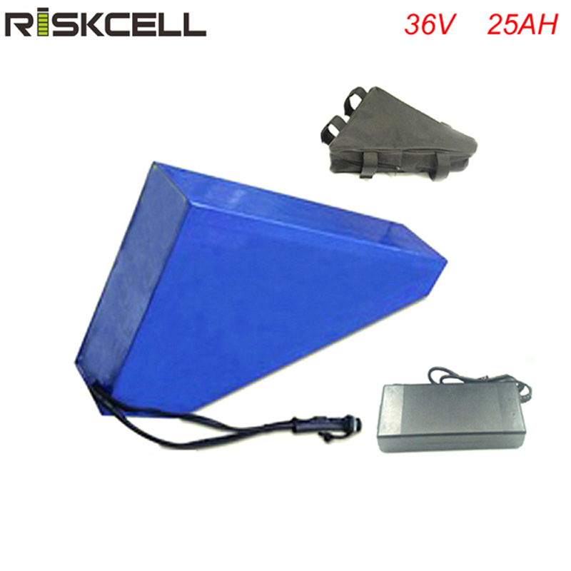 Triangle Type 36v 1000w Giant Bicycle Battery Customized Lithium ion battery 36V 25Ah fit 36v 8fun bafang Electric bike battery electric bicycle battery 36v 25ah 1000w e bike lithium battery pack for 36v 500w 1000w bafang motor with bms and charger