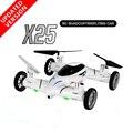 Drones con Cámara SY X25 3D RC Modle 2.4G 8CH Rollo de Alta Velocidad Modelo de Avión RC 6-Axis Quadcopter Flying Car RTF