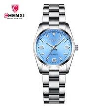 02207c3da86 Mulheres Relógios Pulseira de Relógio de Senhoras De Quartzo CHENXI Relógio  relogio feminino Relógio Digital Menina