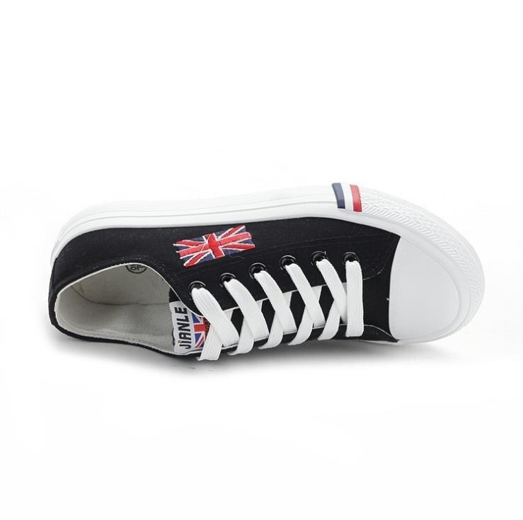 Negro Casuales Lona Europa Coreana La azul Verano Los Versión Unidos Zapatos Hombres Nueva Palabra Bandera Estados 2019 Marca Y surtidos De qUwTwaA