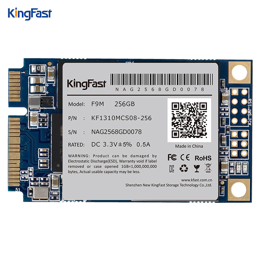 Kingfast superspeed internal Sata3 MLC 256GB msata SSD with cache 256Mb Solid State hard Drive for desktop&laptop Free shipping ssd 00aj370 800 gb sata 2 5inch mlc hs internal solid state drive 1 year warranty