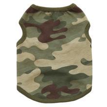 Fashion Heaven Woodland Camouflage Cotton Vest Dog Clothes Teddy Pet Clothing,jul 4
